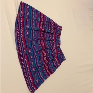Forever 21 Cute and Colorful Skirt (XS)
